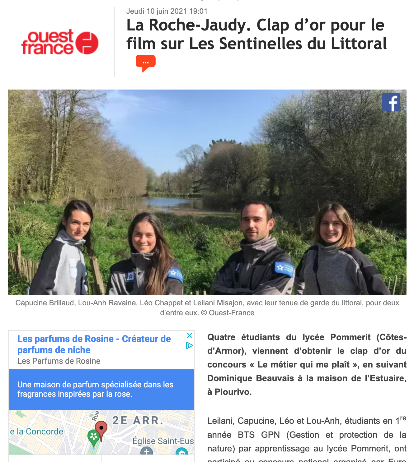 Ouest France - 10/06/2021